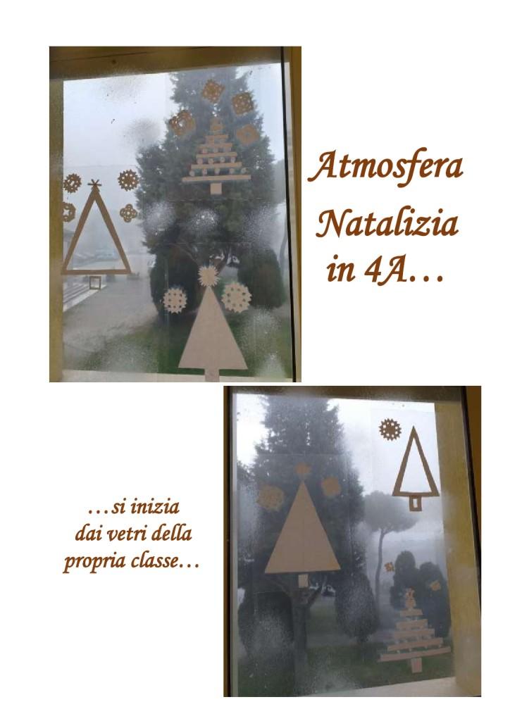 Atmosfera natalizia in 4A1