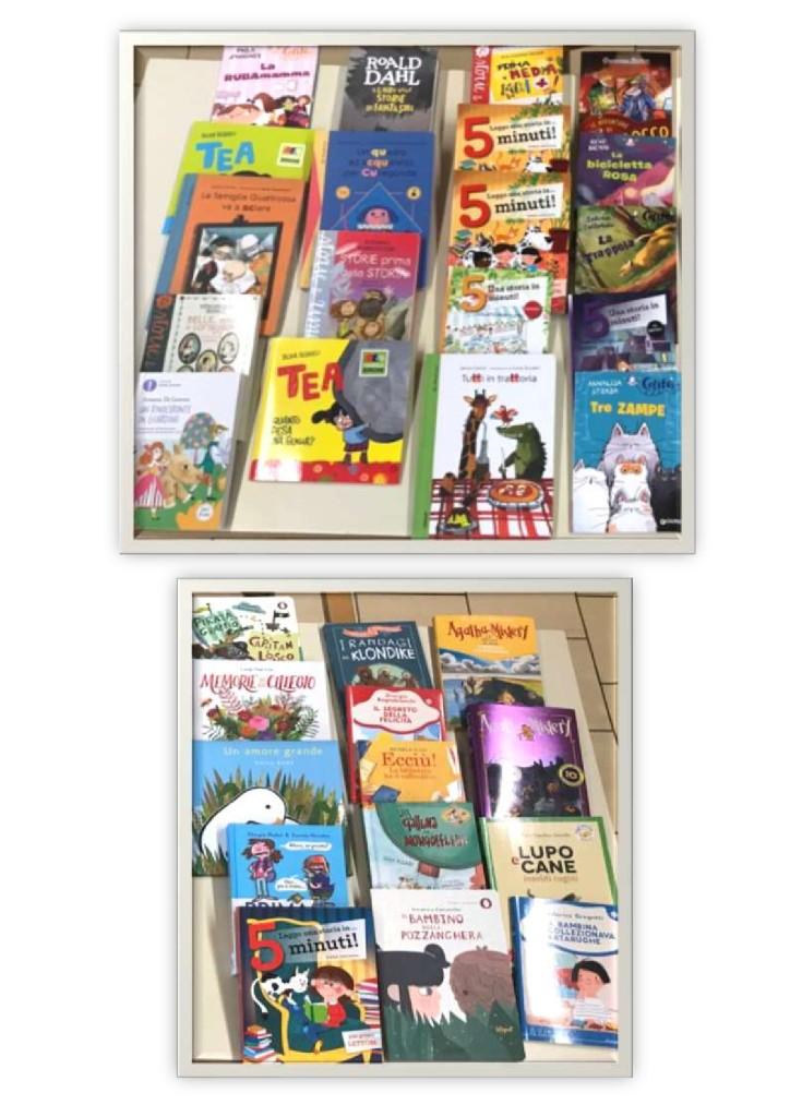 Libri donati dai genitori alla nostra scuola nell2