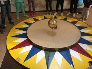 Il pendolo di Foucault al Museo del Balì